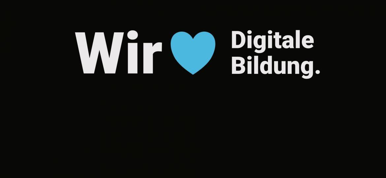 Claim: Wir lieben digitale Bildung
