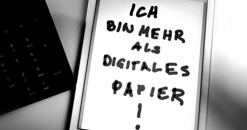 Ein iPad ist mehr als digitlaes Papier