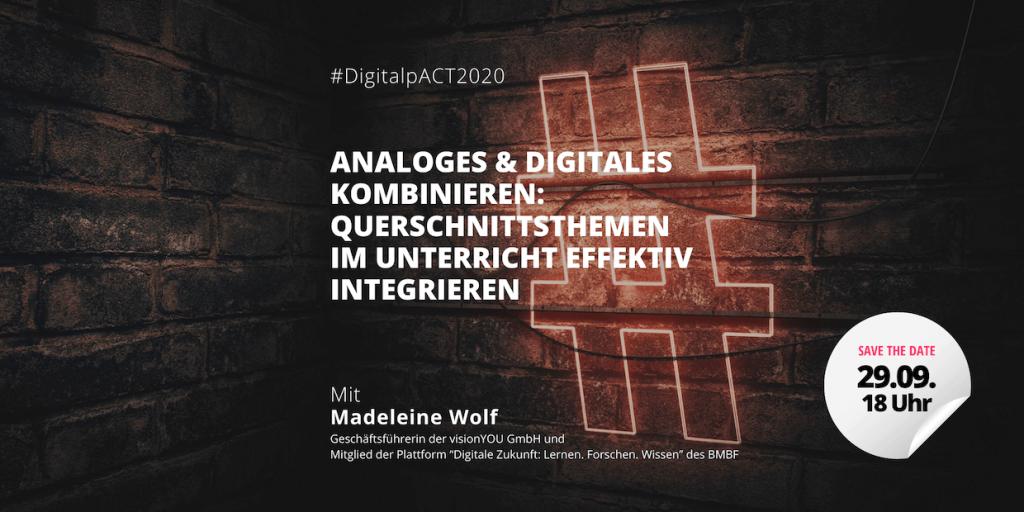 Webinar: Analoges und Digitales kombinieren