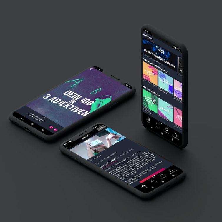 svipe – Die App für schnelle Einblicke in die besten Jobs