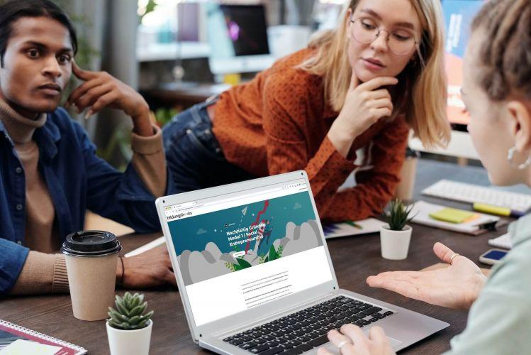 E-Learning Nachhaltig Gründen